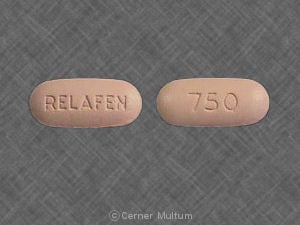 Relafen Nabumetone Patient Information Side Effects And
