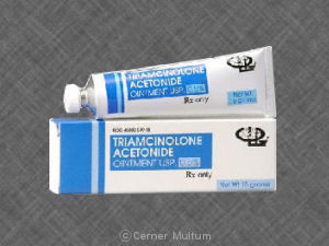 triamcinolone 0.1 ointment side effects