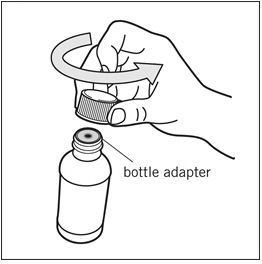 Uncap the bottle - Illustration
