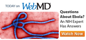 NIH talks about Ebola on WebMD