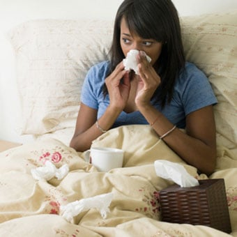 A runny nose is a typical symptom of a common cold.