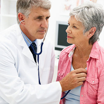 Diagnosis of congestive heart failure includes a physical exam.