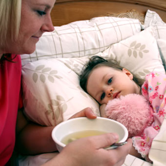 Croup is contagious and those experiencing a chronic cough should consult their primary care physician.
