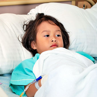 Children are at greater risk for dengue hemorrhagic fever.