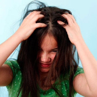 An itchy scalp can occur from a skin infection, lice, scabies, or other contagious skin diseases.