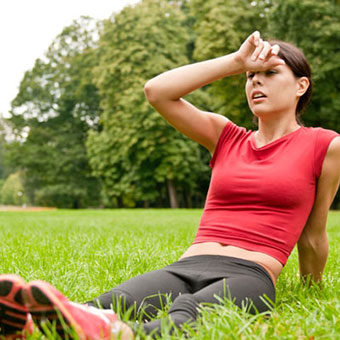 Excessive exercise can cause low blood pressure.