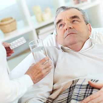 Dehydration can be a complication of norovirus infections.