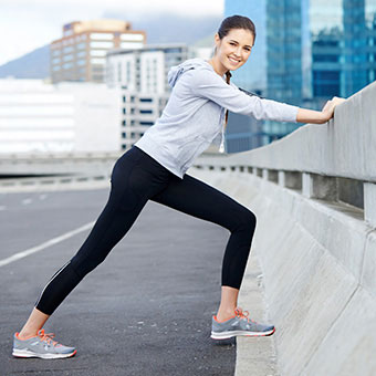 Exercise, even during pregnancy, can help blood flow and fluid distribution to prevent swelling.
