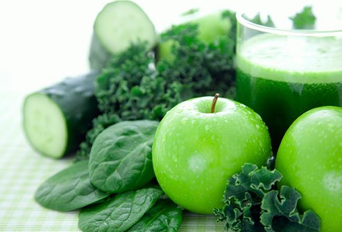 Fruits and vegetables can act as natural laxatives.