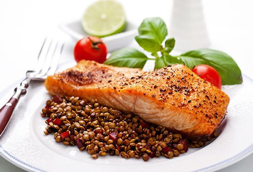 Salmon is a diabetes superfood.