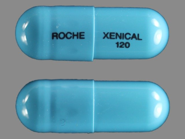 xenical 120  Xenical (Orlistat 120 mg): Side Effects, Interactions, Warning ...
