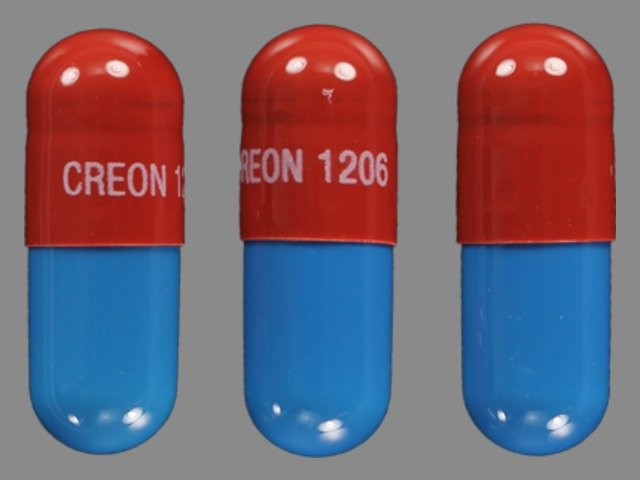 Creon Pancrelipase Capsules Side Effects Interactions
