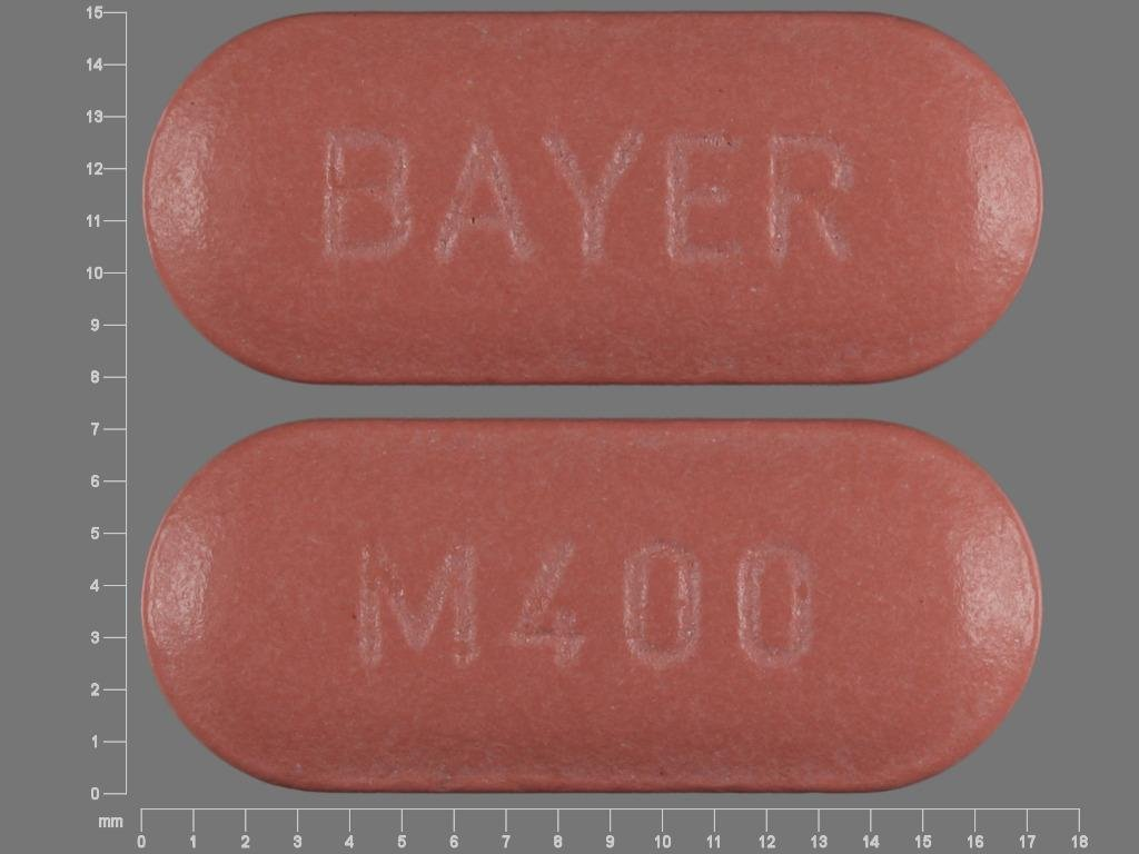 Antimicrobial drug Avelox: instructions for use 4