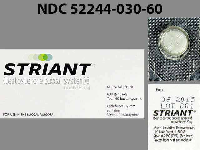 Striant (Testosterone): Side Effects, Interactions, Warning, Dosage