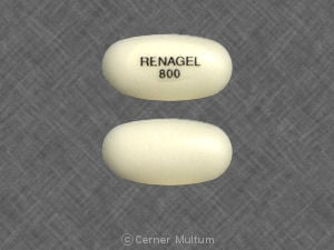 Renvela (Sevelamer Carbonate): Side Effects, Interactions ...