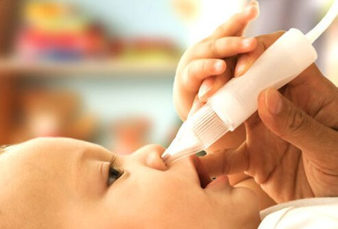 Don't use over-the-counter cold medicine in children under 4 years.