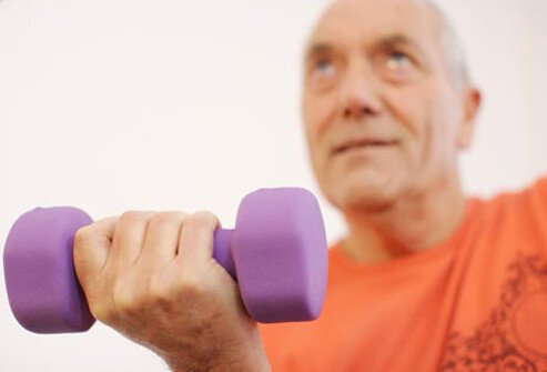 Weight lifting is not recommended for people with diabetes-related eye problems (such as retinopathy) that aren't being treated.