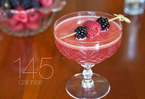 Photo of berry cocktail.