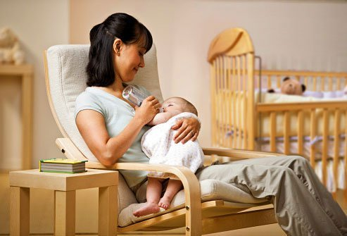 Create a nontoxic nursery by choosing low VOC paint, furniture, and carpet.