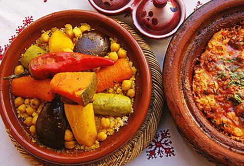 Photo of Moroccan tangines.