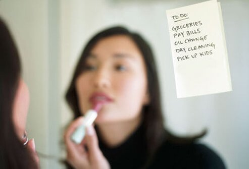 Making to-do lists is a good technique used to manage memory issues (fibro fog) associated with fibromyalgia.