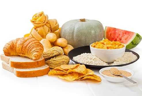Eating a diet full of high-glycemic foods may increase the risk of breakouts.