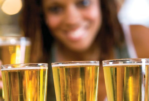 Fess up to binge drinking if you do it because alcohol can impact test results.