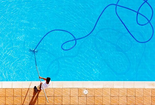 Teach kids to swim, always watch them closely at the pool, and keep pools fenced.