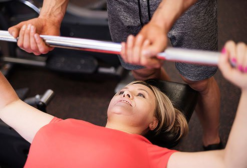 People naturally lose muscle after 40, especially women after menopause.