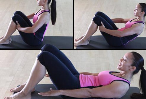 This classic move helps flatten the tummy by using your abs efficiently.