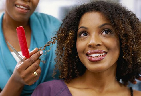 Curly hair is more likely to break and become dry and brittle.