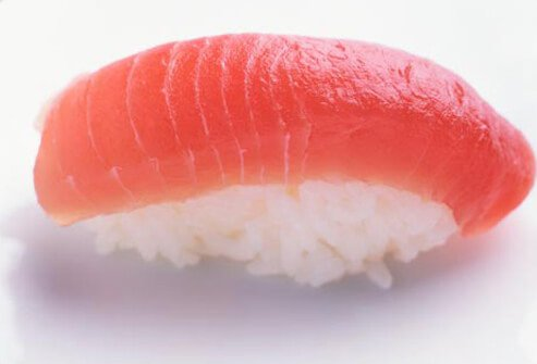 Scombrotoxin poisoning is an allergy-like reaction to eating fish that has begun to spoil