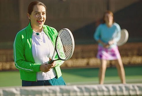 Add some team spirit to your workout by joining a recreation league.
