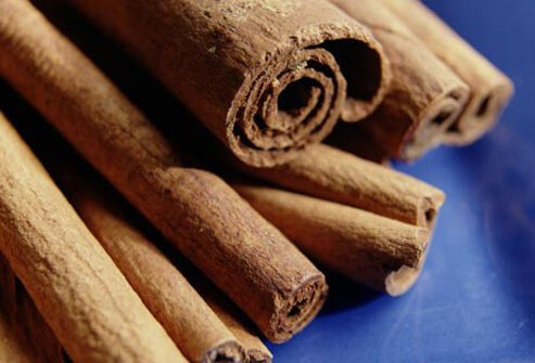 Some studies suggest sprinkling your food with cinnamon may lower blood sugar in individuals with type II diabetes.