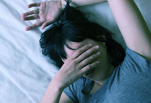 See your doctor about chronic sleeplessness.