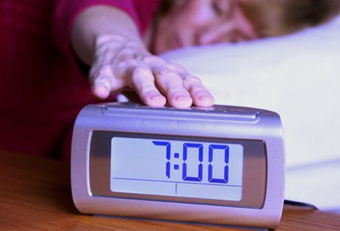 One of the worst things you can do if you're having trouble falling or staying asleep is to watch the clock.