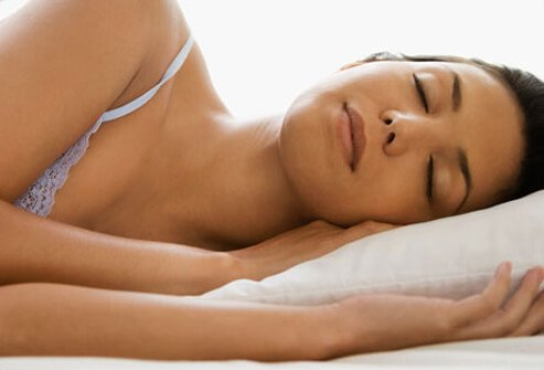 Keep your neck in a neutral position while sleeping.