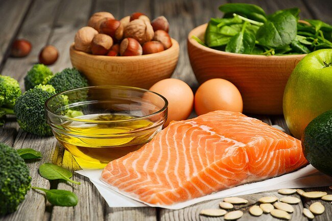 Get your protein from lean meats, fish, peas, beans, nuts, seeds, eggs, and soy.