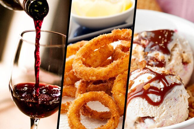 If you eat healthy most of the time, you may be able to enjoy an occasional treat like a glass of wine, onion rings, or ice cream.