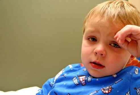 Children will show you they don't feel well with their demeanor and symptoms.