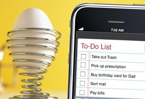 Smart phone organizer apps can be especially useful for people with ADHD.