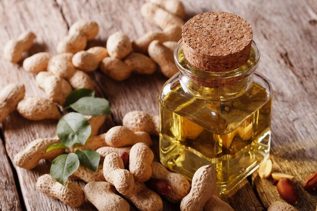 Cold-pressed peanut oil is high in nutrients and is a good choice for high-heat cooking.