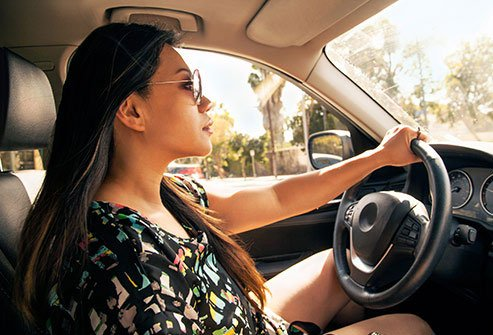 Many people with AS do not have a problem driving.