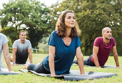 Therapy, exercise, and diet can help treat chronic stress.