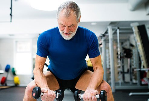 Strength training may help minimize symptoms of painful joints.
