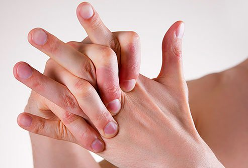 Knuckles crack when fluid-filled bubbles in your joints burst.