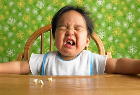 Neophobia is the natural tendency of babies to avoid unfamiliar foods.