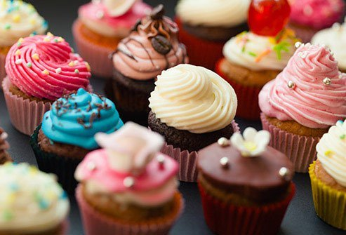 Eating the wrong foods such as sweets and treats can lead to inflammation.
