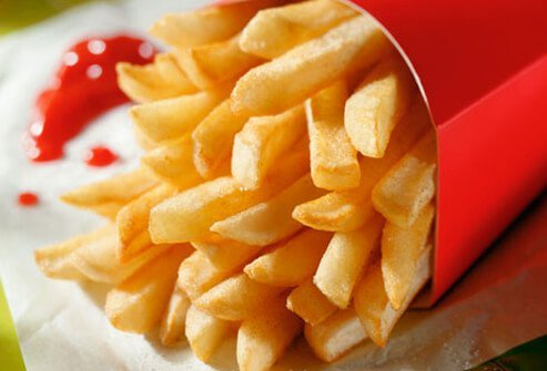 Most of us do, not knowing that a large order of fries can have as many calories as a burger.