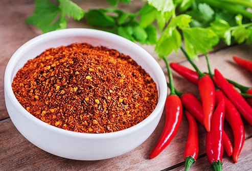 Capsaicin in spicy peppers is a potent pain reliever.